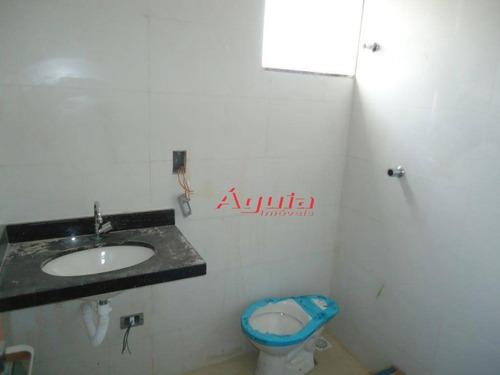 apartamento com 2 dormitórios à venda, 59 m² por r$ 250.000 - jardim santo antônio - santo andré/sp - ap1699
