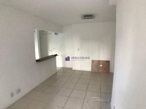 apartamento com 2 dormitórios à venda, 59 m² por r$ 289.000 - pechincha - rio de janeiro/rj - ap0500