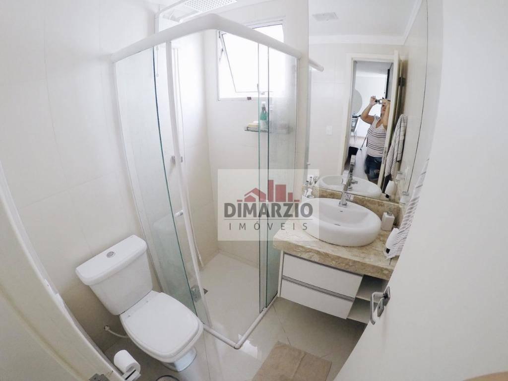 apartamento com 2 dormitórios à venda, 59 m² por r$ 290.000 - jardim dona regina - santa bárbara d'oeste/sp - ap0698