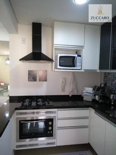 apartamento com 2 dormitórios à venda, 59 m² por r$ 330.000 - picanco - guarulhos/sp - ap12841