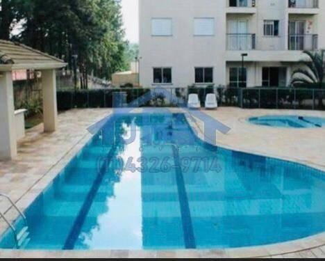 apartamento com 2 dormitórios à venda, 59 m² por r$ 350.000 - jardim tupanci - barueri/sp - ap2835