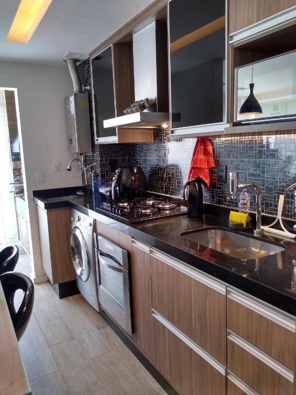 apartamento com 2 dormitórios à venda, 59 m² por r$ 640.000 - vila prudente - são paulo/sp - ap5353