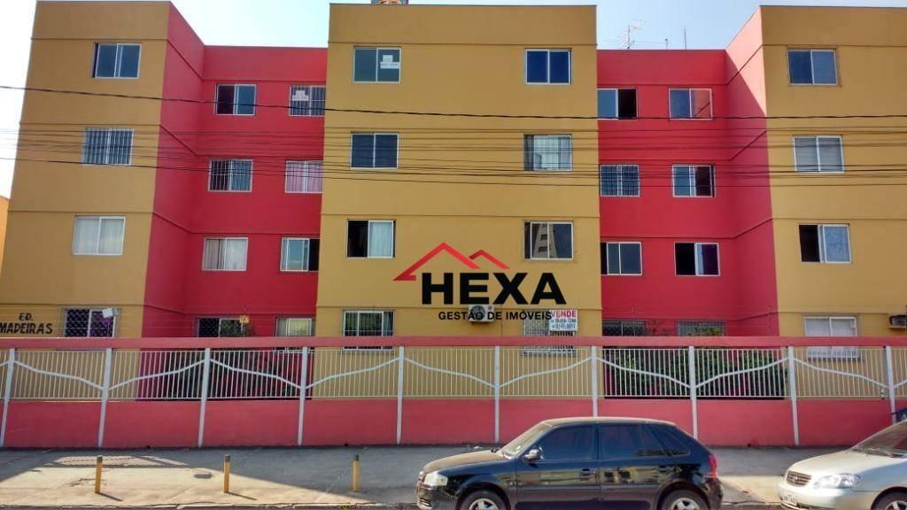 apartamento com 2 dormitórios à venda, 60 m² - parque amazônia - goiânia/go - ap0344