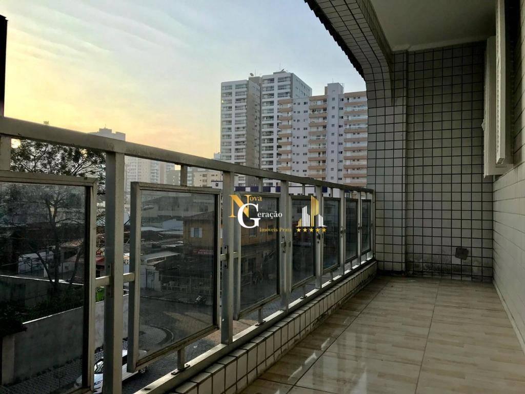 apartamento com 2 dormitórios à venda, 60 m² por r$ 170.000,00 - canto do forte - praia grande/sp - ap2212