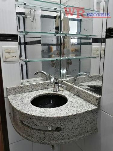 apartamento com 2 dormitórios à venda, 60 m² por r$ 250.000 - santa terezinha - são bernardo do campo/sp - ap2034