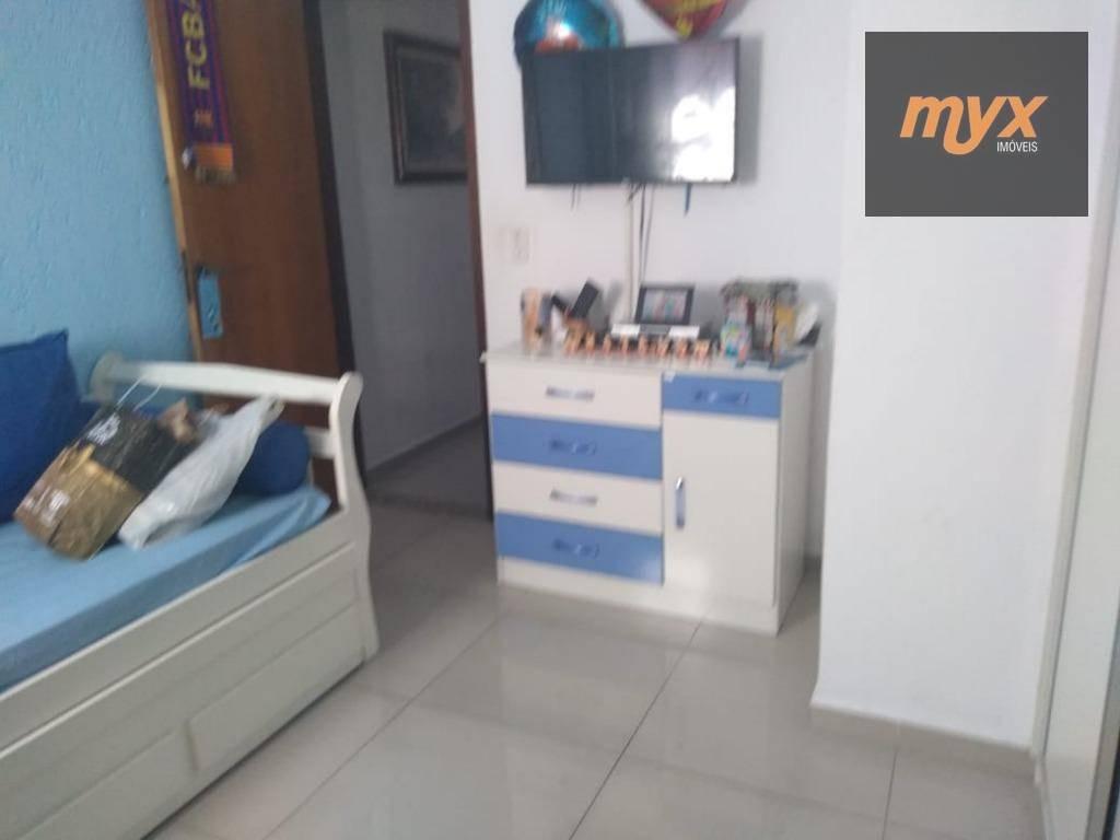 apartamento com 2 dormitórios à venda, 60 m² por r$ 260.000 - parque bitaru - são vicente/sp - ap5230