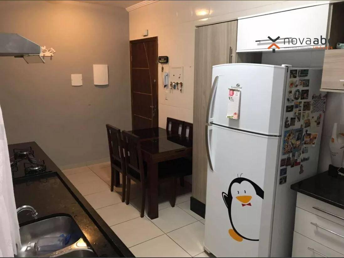 apartamento com 2 dormitórios à venda, 60 m² por r$ 290.000 - jardim stetel - santo andré/sp - ap1699