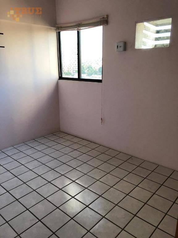 apartamento com 2 dormitórios à venda, 60 m² por r$ 300.000 - tamarineira - recife/pe - ap3500