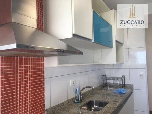 apartamento com 2 dormitórios à venda, 60 m² por r$ 330.000 - jardim barbosa - guarulhos/sp - ap4961