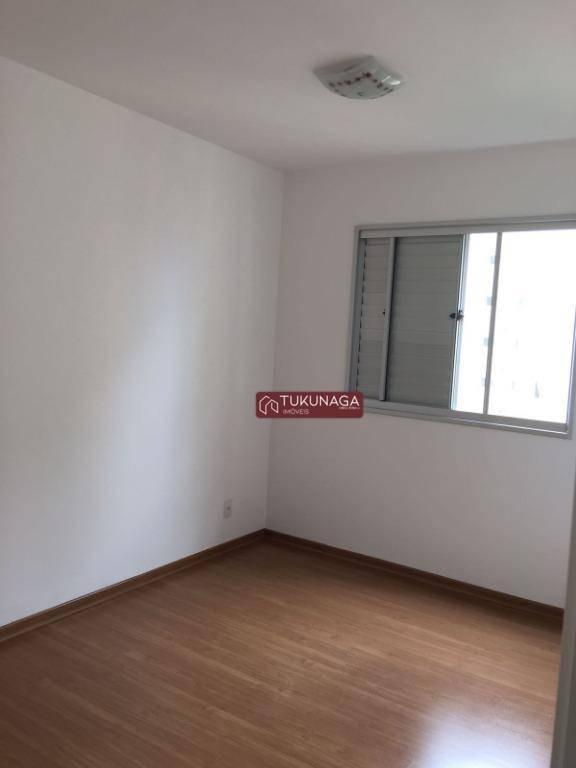 apartamento com 2 dormitórios à venda, 60 m² por r$ 330.000 - picanco - guarulhos/sp - ap2757