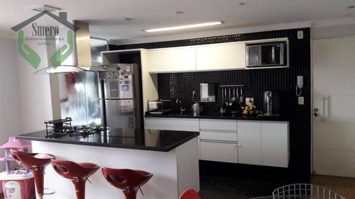 apartamento com 2 dormitórios à venda, 60 m² por r$ 350.000 - jaguaré - são paulo/sp - ap0357