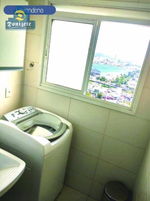 apartamento com 2 dormitórios à venda, 60 m² por r$ 350.000,00 - vila valparaíso - santo andré/sp - ap9597