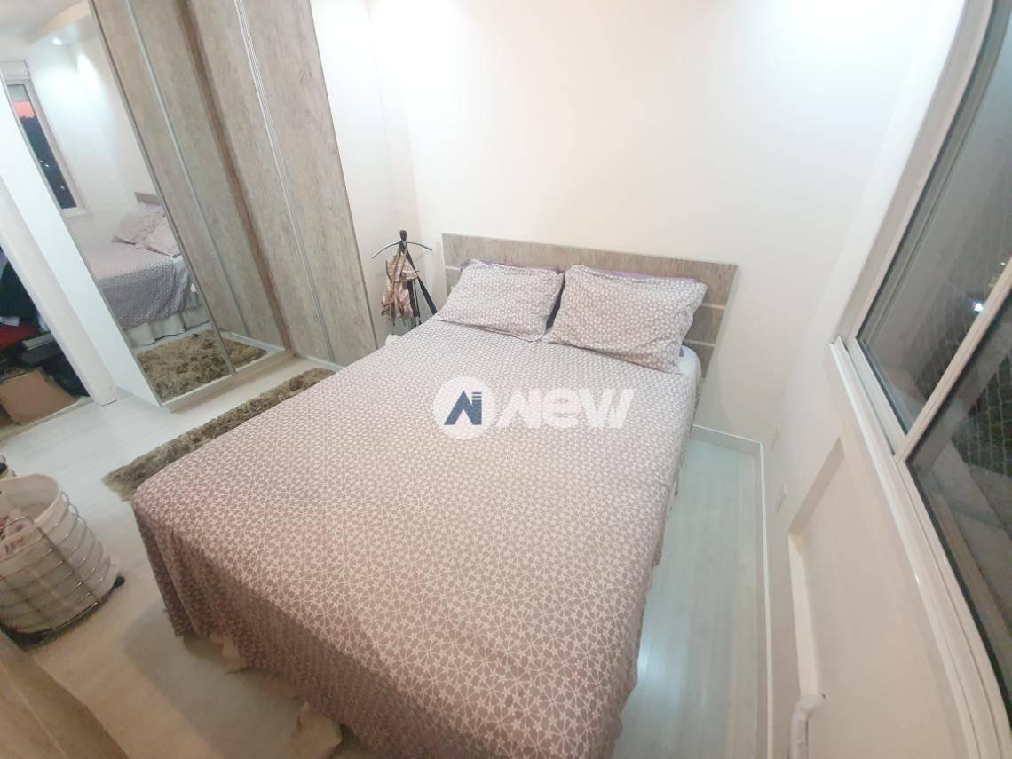 apartamento com 2 dormitórios à venda, 60 m² por r$ 372.000,00 - pátria nova - novo hamburgo/rs - ap2886