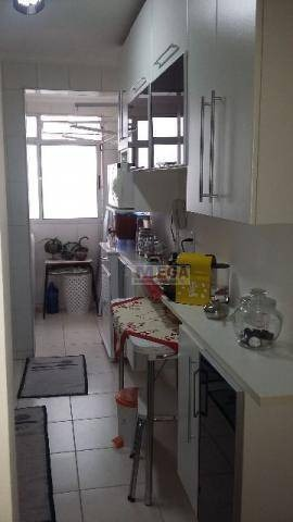 apartamento com 2 dormitórios à venda, 60 m² por r$ 390.000,00 - mansões santo antônio - campinas/sp - ap2418