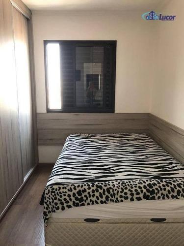 apartamento com 2 dormitórios à venda, 60 m² por r$ 440.000 - alto da mooca - são paulo/sp - ap3090