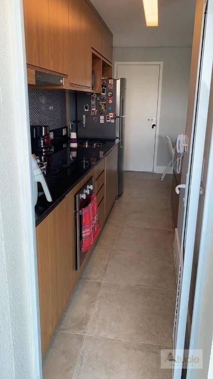 apartamento com 2 dormitórios à venda, 61 m² - botafogo - campinas/sp - ap6449