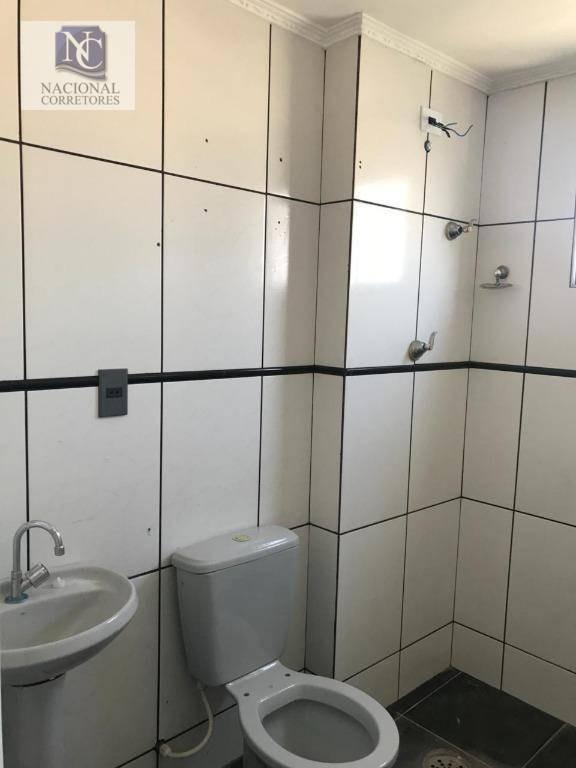 apartamento com 2 dormitórios à venda, 61 m² por r$ 185.000,00 - jardim alzira franco - santo andré/sp - ap7106