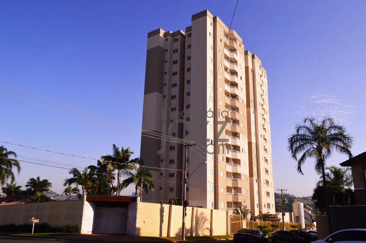 apartamento com 2 dormitórios à venda, 61 m² por r$ 235.000 - green village - nova odessa/sp - ap2180
