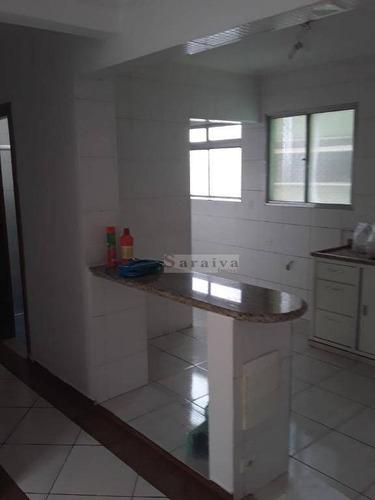 apartamento com 2 dormitórios à venda, 61 m² por r$ 235.000,00 - jardim hollywood - são bernardo do campo/sp - ap1134