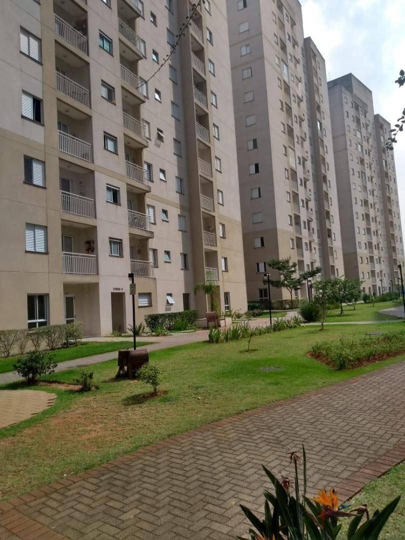 apartamento com 2 dormitórios à venda, 61 m² por r$ 272.000,00 - jardim tupanci - barueri/sp - ap0617
