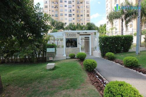 apartamento com 2 dormitórios à venda, 61 m² por r$ 340.000 - santa quitéria - curitiba/pr - ap0197