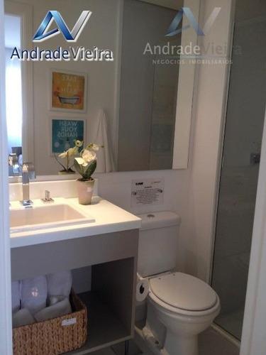 apartamento com 2 dormitórios à venda, 61 m² por r$ 380.000 - jardim guanabara - campinas/sp - ap0069