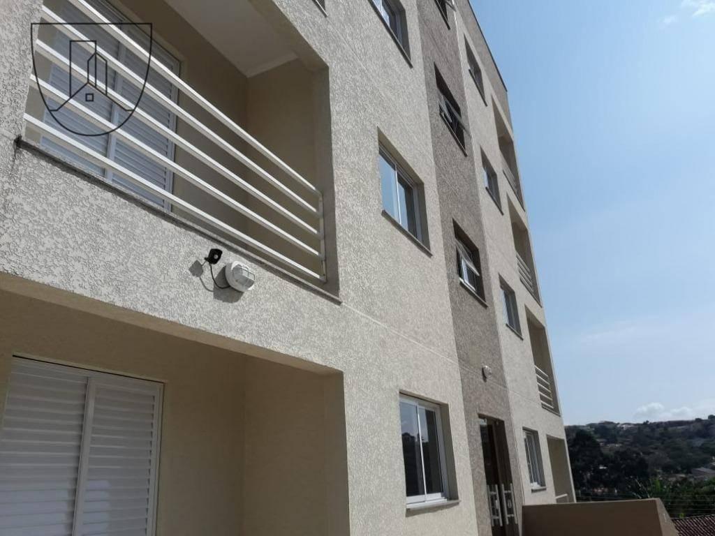 apartamento com 2 dormitórios à venda, 62 m² por r$ 205.000,00 - jardim recreio - bragança paulista/sp - ap0187