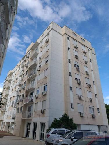 apartamento com 2 dormitórios à venda, 62 m² por r$ 278.000 - cristal - porto alegre/rs - ap1325