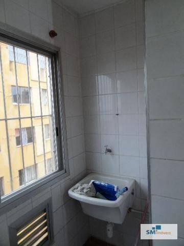 apartamento com 2 dormitórios à venda, 62 m² por r$ 280.000,00 - assunção - são bernardo do campo/sp - ap0176