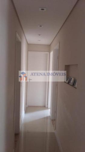apartamento com 2 dormitórios à venda, 62 m² por r$ 355.000 - macedo - guarulhos/sp - ap1646