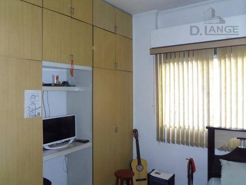 apartamento com 2 dormitórios à venda, 63 m² por r$ 250.000 - cambuí - campinas/sp - ap15108
