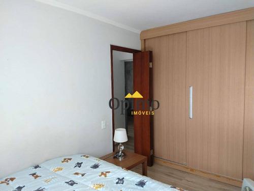 apartamento com 2 dormitórios à venda, 63 m² por r$ 270.000 - vila são paulo - são paulo/sp - ap1986