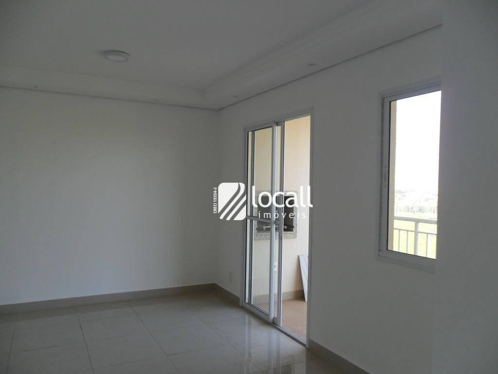 apartamento com 2 dormitórios à venda, 63 m² por r$ 285.000 - jardim tarraf ii - são josé do rio preto/sp - ap1880