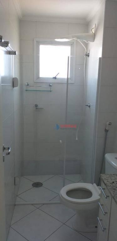 apartamento com 2 dormitórios à venda, 63 m² por r$ 340.000 - centro - taubaté/sp - ap2737