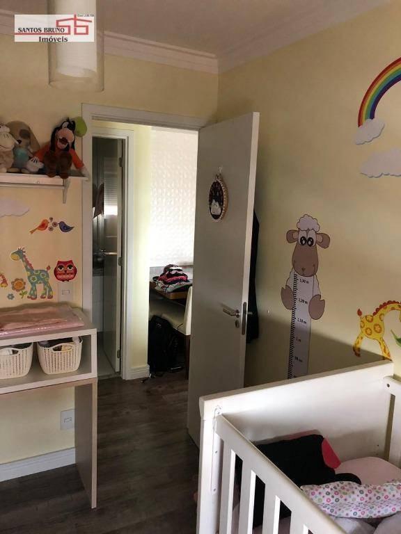 apartamento com 2 dormitórios à venda, 63 m² por r$ 595.000,00 - casa verde - são paulo/sp - ap2236