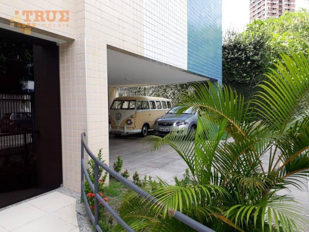 apartamento com 2 dormitórios à venda, 64 m² por r$ 250.000,00 - torre - recife/pe - ap3074