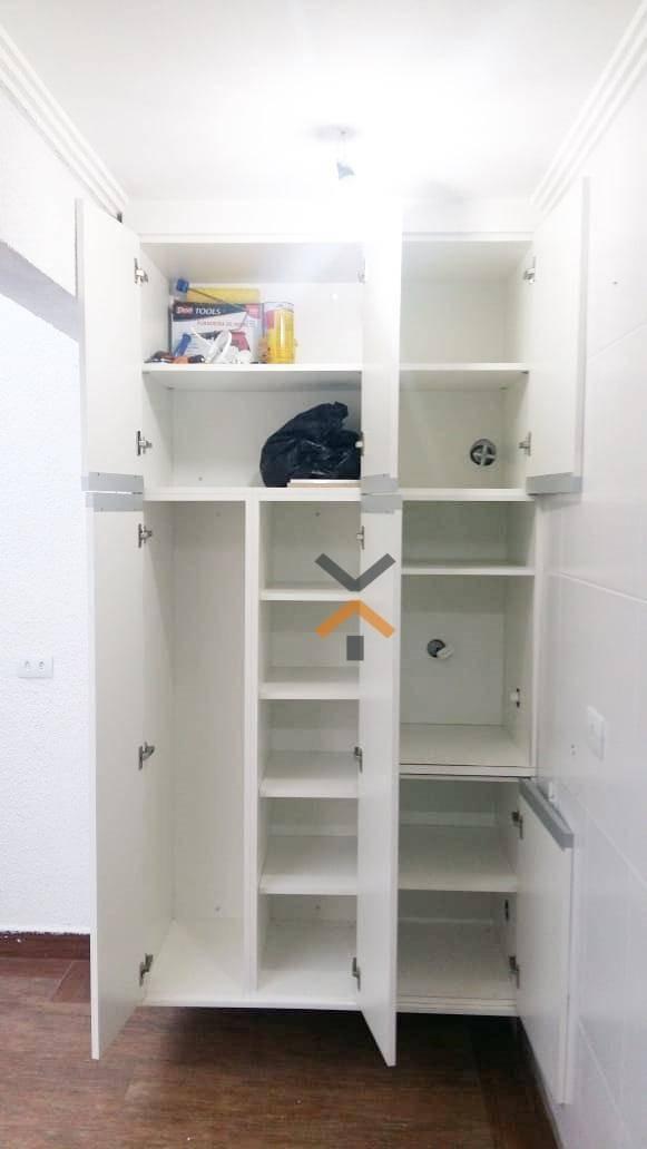 apartamento com 2 dormitórios à venda, 64 m² por r$ 295.000 - vila santo alberto - santo andré/sp - ap0078