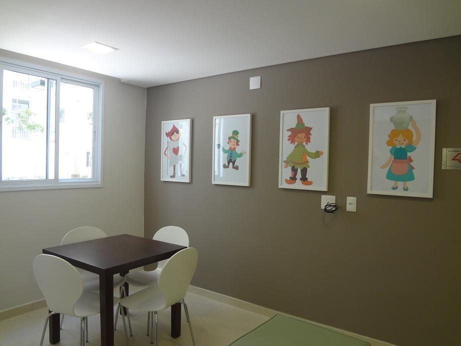 apartamento com 2 dormitórios à venda, 64 m² por r$ 350.000,00 - jardim - santo andré/sp - ap8691