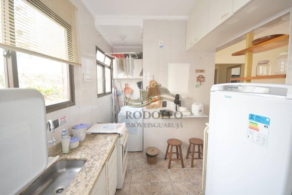 apartamento com 2 dormitórios à venda, 65 m² por r$ 147.000,00 - praia das astúrias - guarujá/sp - ap1095