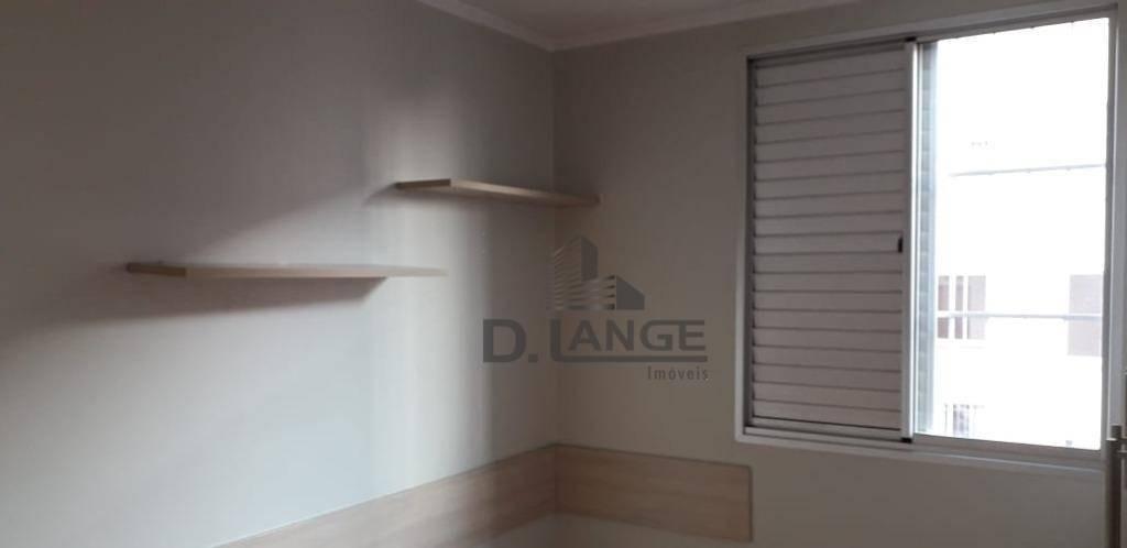apartamento com 2 dormitórios à venda, 65 m² por r$ 225.000,00 - jardim paulicéia - campinas/sp - ap18336