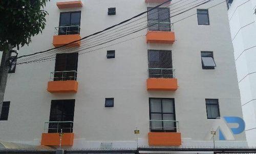 apartamento com 2 dormitórios à venda, 65 m² por r$ 267.000,00 - rio vermelho - salvador/ba - ap0023
