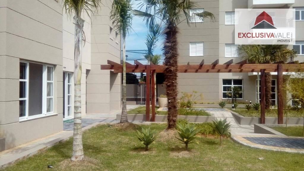 apartamento com 2 dormitórios à venda, 65 m² por r$ 285.000,00 - parque industrial - são josé dos campos/sp - ap0438