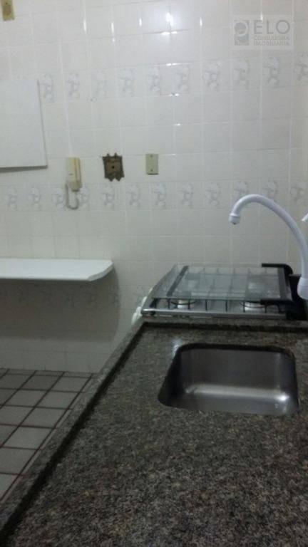 apartamento com 2 dormitórios à venda, 65 m² por r$ 310.000,00 - embaré - santos/sp - ap1642