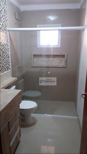 apartamento com 2 dormitórios à venda, 65 m² por r$ 321.000 - centro - campinas/sp - ap5392