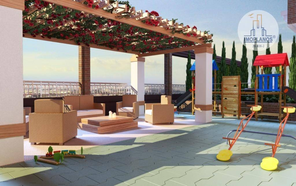 apartamento com 2 dormitórios à venda, 65 m² por r$ 368.000 - canto do forte - praia grande/sp - ap10317