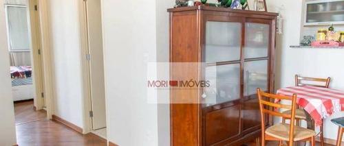 apartamento com 2 dormitórios à venda, 65 m² por r$ 487.600 - água branca - são paulo/sp - ap2443