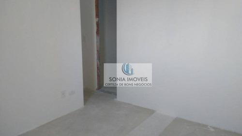 apartamento com 2 dormitórios à venda, 66 m² por r$ 408.000 - barcelona - são caetano do sul/sp - ap0161