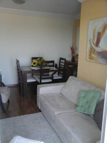 apartamento com 2 dormitórios à venda, 67 m² por r$ 415.000 - jardim aurélia - campinas/sp - ap0502