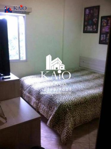apartamento com 2 dormitórios à venda, 67m²,vila galvão