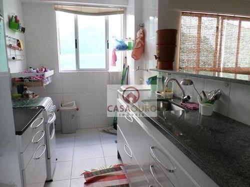 apartamento com 2 dormitórios à venda, 68 m² por r$ 320.000 - ap0711